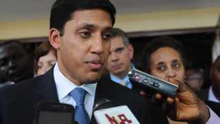 File photo: United States Agency for International Development Adminstrator Rajiv Shah.
