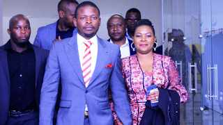 Enlightened Christian Gathering church leader Shepherd Bushiri and his wife Mary. Picture: Dimpho Maja/African News Agency (ANA)