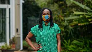 Joy Chimombe who hosts from her home in Pietermaritzburg has given back to her community despite losing an income during the pandemic. Picture: Supplied.