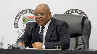 Commission of Inquiry into State Capture chairman Deputy Chief Justice Raymond Zondo. Picture: Karen Sandison/African News Agency (ANA)