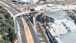 The redevelopment of Fourways Mall. Accelerate is looking at developing between 400 and 600 sectional title units on property the fund owns behind its Buzz Shopping Centre in Fourways.Photo: Supplied