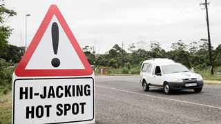 A picture of a hijacking hotspot in Durban. File Picture: Gcina Ndwalane