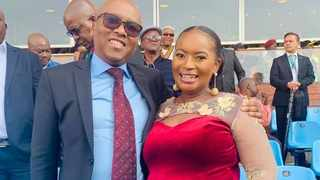 Gauteng Health MEC Dr Bandile Masuku and his wife, the City of Joburg's MMC for Group and Shared Services, Loyiso Masuku. Picture: Facebook