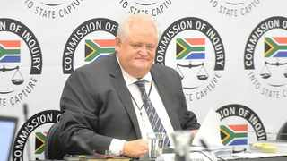 Former chief operations officer of Bosasa Angelo Agrizzi.