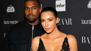 Kanye West and Kim Kardashian West. Picture: Reuters