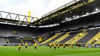 Both Borussia Dortmund and Eintracht Frankfurt hope they will be allowed at least 15,000 fans into their stadiums when the new Bundesliga season gets underway. Photo: Martin Meissner/AP