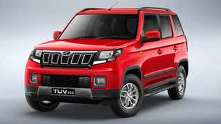 The Mahindra TUV300 gets a new frontal design for 2020.