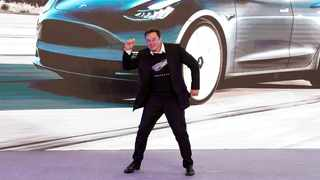 Tesla Founder Elon Musk. File picture: Aly Song / Reuters.