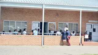 The driver's licence renewals queue at the Rossburgh Testing Ground. TUMI PAKKIES African News Agency (ANA)