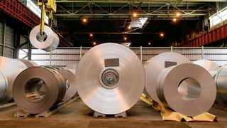 ArcelorMittal South Africa fell deeper into a half-year loss as demand for steel dropped due to the new coronavirus and output declined after operations were shut during a lockdown. Photo: Reuters