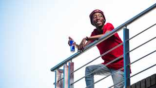 "Yvng Savage"""" Moloi seen during a shoot in Johannesburg, South Africa. Picture: Supplied via Mpumelelo Macu/Red Bull Content Pool"