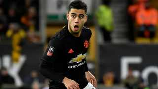 FILE - Manchester United's Andreas Pereira controls the ball during their English FA Cup third round match against Wolverhampton Wanderers in January. Photo: Rui Vieira/AP