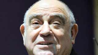 Former Intelligence Minister Ronnie Kasrils. Photo: INLSA