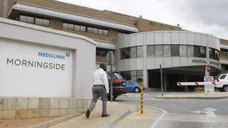 Mediclinic Morningside in Johannesburg. File photo: Leon Nicholas