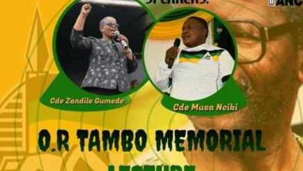 Zandile Gumede distances herself from OR Tambo lecture promoting her as guest speaker