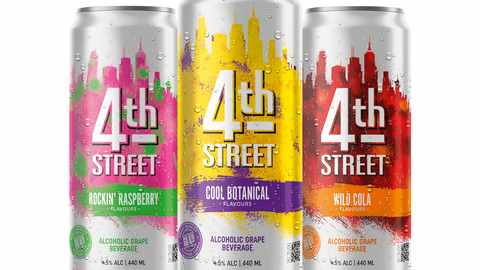 WIN 1 of 5 4th STREET Wines Spritzer hampers valued at R1 000 each