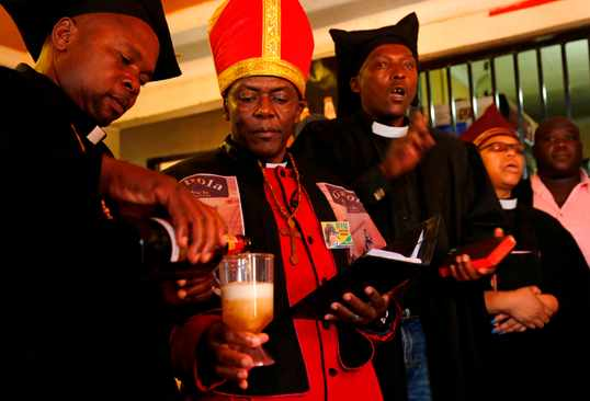 PICS: SA's booze church struggles with Covid lockdown rules - IOL