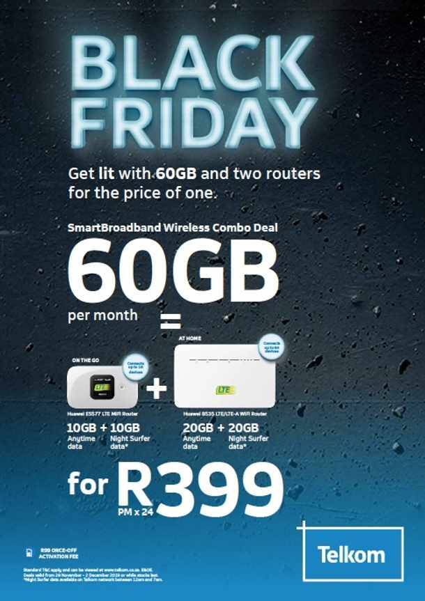 Check Out South Africa S Mobile Networks Black Friday Deals