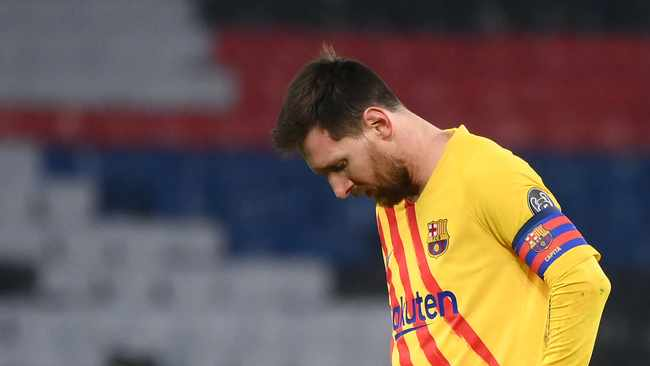 Lionel Messi Misses Penalty As Barcelona Fail In Latest Psg Comeback Attempt