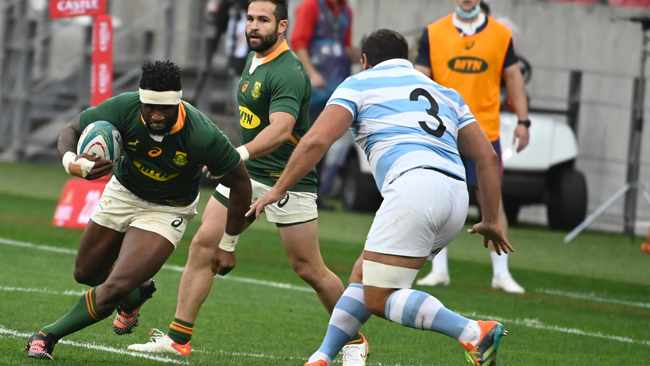 Springboks and Argentina are pleased to kick Covid-19 into contact