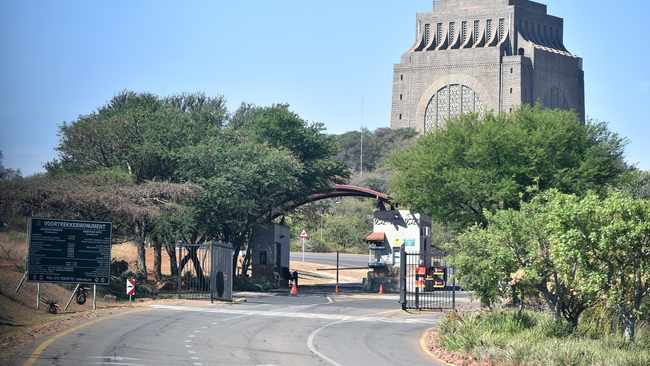 Pretoria Central police are on the hunt for three men who robbed a security guard at the main gate of the Voortrekker Monument.  Picture: Thobile Mathonsi/African News Agency (ANA)