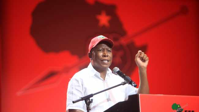 EFF leader Julius Malema slammed some of the party's structures for failing to capitalise on the ANC's internal problems to increase voter support of the red berets. Picture: Nhlanhla Phillips/African News Agency(ANA).