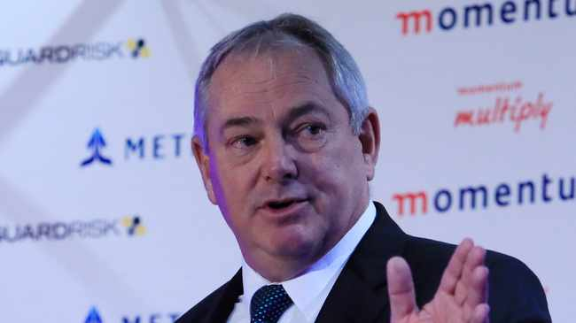 Hillie Meyer, Group Chief Executive of Momentum Metropolitan pledged to forego a third of his salary for three months and donate it to the Solidarity Fund.  Photo Simphiwe Mbokazi/ African News Agency (ANA)