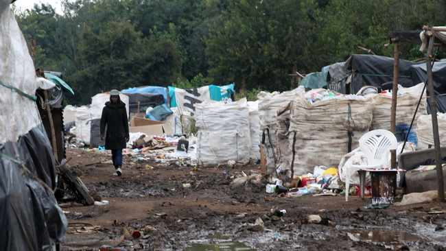 Mushroomville opposite SuperSport Park cricket stadium where waste pickers live and work. Picture: Jacques Naude/African News Agency (ANA)