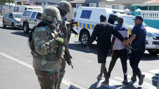 """Over the course of the lockdown period, the Western Cape has seen a """"staggering"""" decline in crime and in particular alleged murder admissions or suspected murders. Picture:Brendan Magaar/African News Agency (ANA)"""