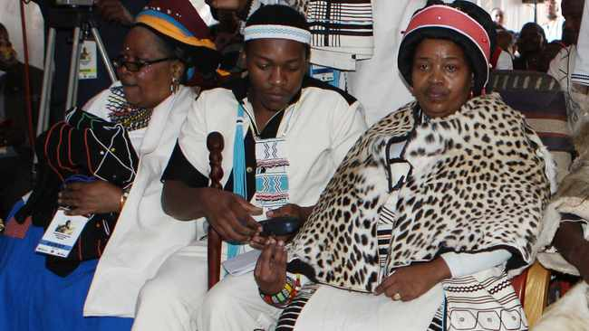 The Queen of AmaRharhabe Queen Ah Noloyiso Sndile had died. She is the sister to the reigning Zulu tribe King Goodwill Zwelithini ka Bhekuzulu. Picture: Phando Jikelo/African News Agency(ANA)