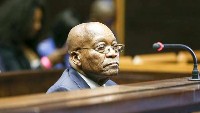 Former president Jacob Zuma. File picture Leon Lestrade/African News Agency (ANA).
