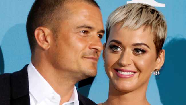 Since Orlando Bloom proposed to Katy Perry things couldn't be better for them. Picture: Reuters