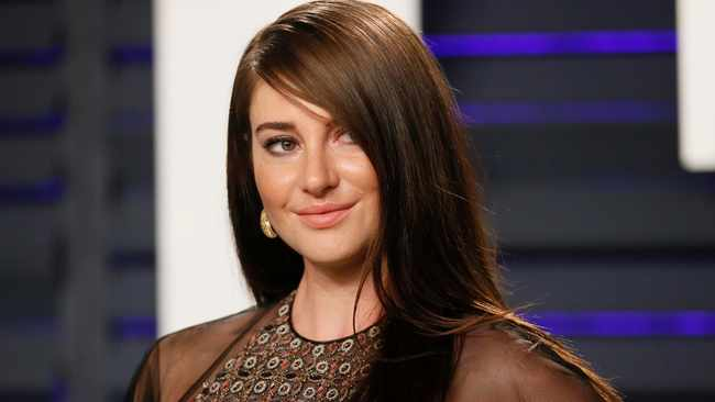 """Shailene Woodley """"loves sex"""" - but finds dating """"hard"""". Picture: Reuters"""