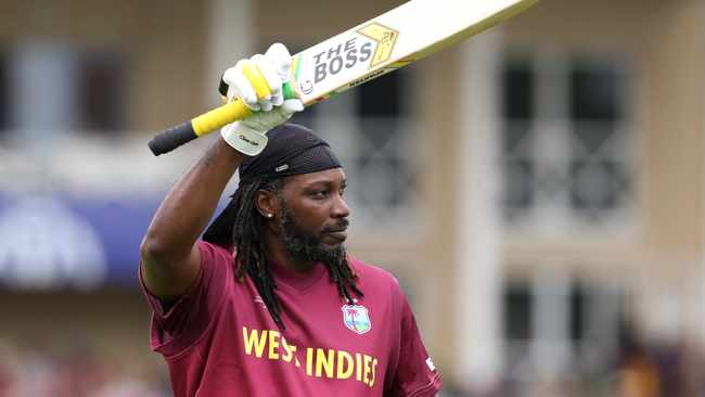 Led by flamboyant opener Chris Gayle, who thumped 50 runs off 34 balls, the West Indies wasted little time polishing off Pakistan by seven wickets. Photo: Rui Vieira/AP