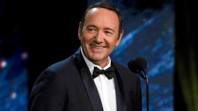Kevin Spacey has made his first public appearance since being accused of sexual assault, reading a poem about a worn-out boxer in a Rome museum.  Picture: Chris Pizzello/Invision/AP/African News Agency (ANA)