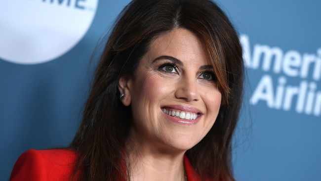 Monica Lewinsky arrives at The Hollywood Reporter's Women in Entertainment Breakfast at Milk Studios in Los Angeles. Picture: Jordan Strauss/Invision/AP, File