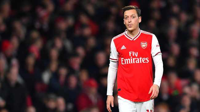 Arsenal midfielder has been critical of China's policy towards its Muslim Uighur minority. Photo: Dylan Martinez/Reuters