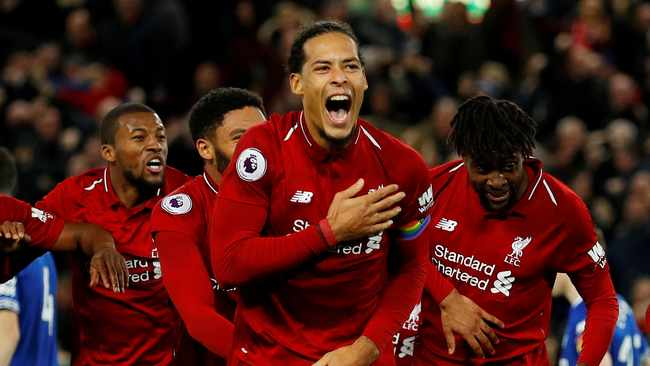 Virgil van Dijk has helped Liverpool win the Champions League, UEFA Super Cup and Club World Cup. Photo: Reuters