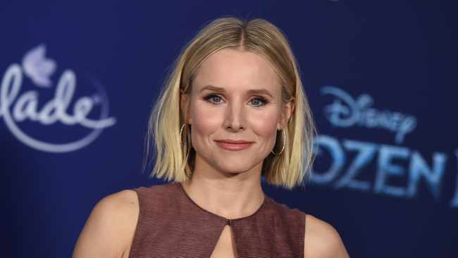 "Kristen Bell's five-year-old daughter Delta is ""still in diapers"". Picture: AP"