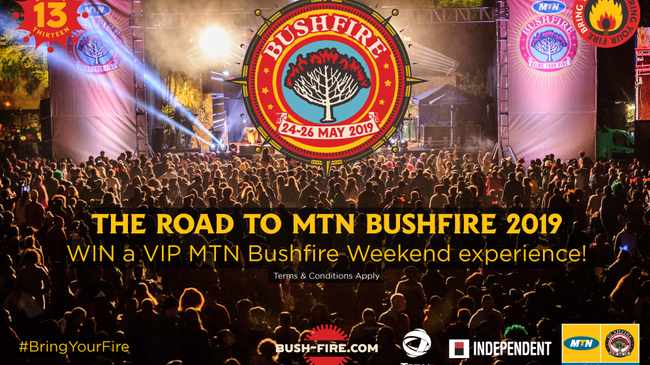 Road to MTN Bushfire. Picture: Supplied