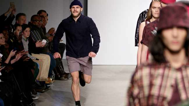 Nicolas  Coutts' last SA Menswear Week showcase in February this year. Simon Deiner / SDR Photo.