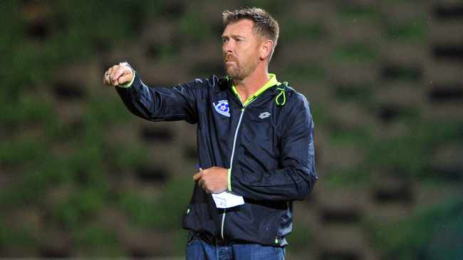 Eric Tinkler will be hoping to get the better of his KZN rivals as they look to keep their topflight status. Photo: Sydney Mahlangu/BackpagePix