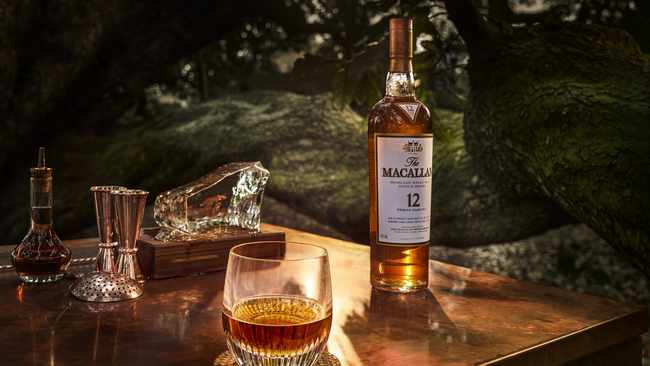 Food and whisky pairing for The Macallan drinkers. Supplied