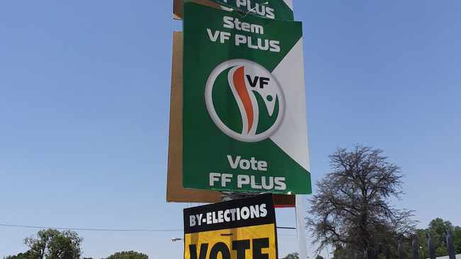 Freedom Front Plus has grabbed a ward seat from the Democratic Alliance in the Mamusa municipal by-election. Picture: Molaole Montsho/African News Agency (ANA)