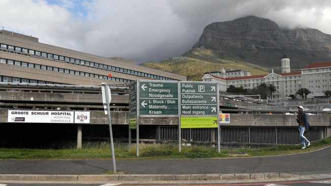 Groote Schuur Hospital in Observatory, Cape Town. File picture: African News Agency (ANA)