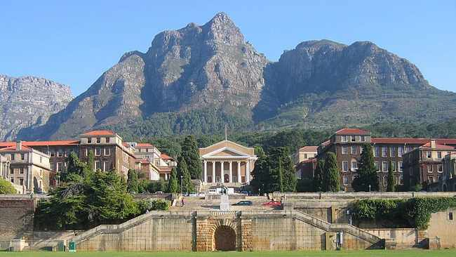 The University of Cape Town's Upper Campus. Picture: Wikimedia Commons.