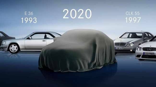 The 2020 Mercedes-Benz E-Class Coupe will be revealed next week.