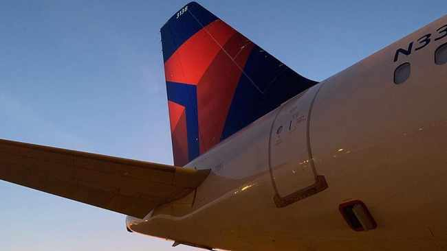 A group of Senate Democrats led by Elizabeth Warren and Jack Reed say cuts to employee hours at Delta and JetBlue go against the intent of the Cares Act. Picture: Instagram/ Delta Air Lines.