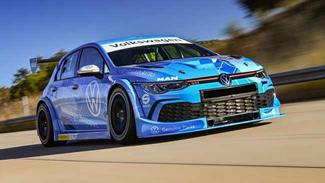 Volkswagen Golf 8 GTI to hit South African tracks as GTC race car