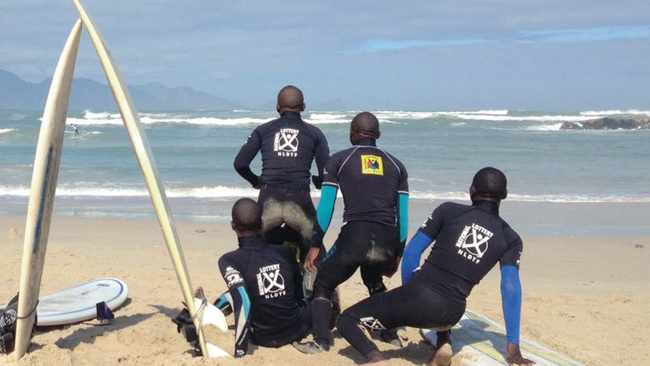 AMPED: The Waves For Change Khayelitsha surfing contest at Monwabisi Beach was the first contest the surfers had entered, and many of the parents watched their children surfing for the first time, says the writer.